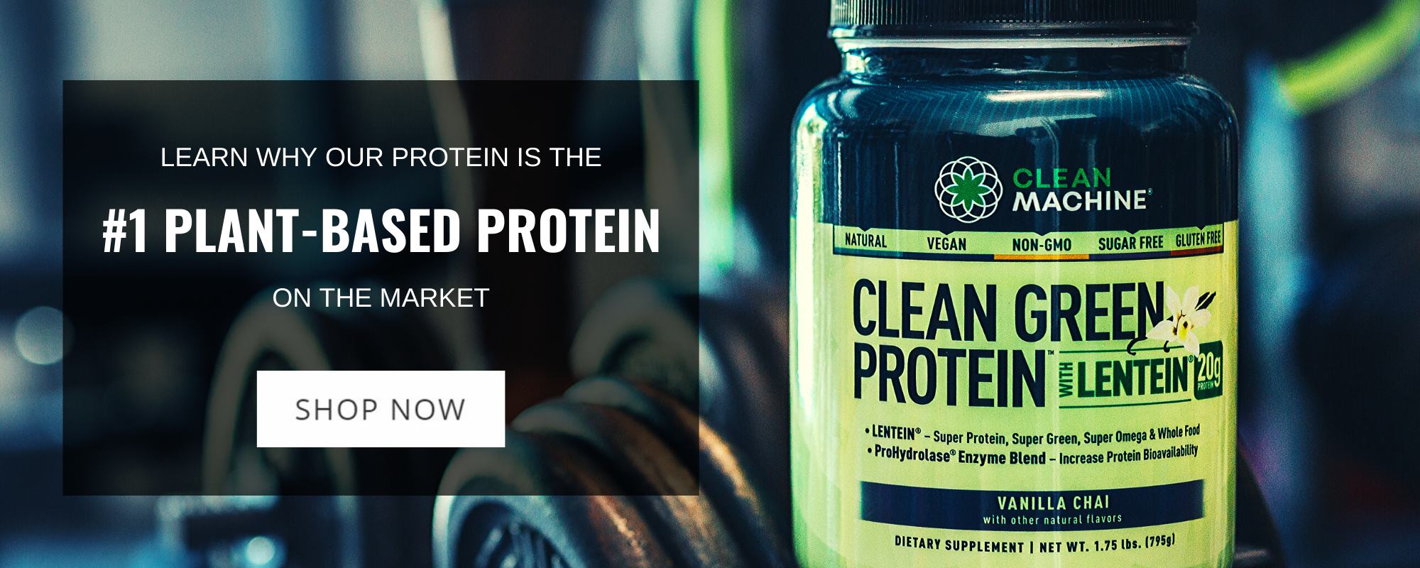 Clean Machine - Clean Green Protein