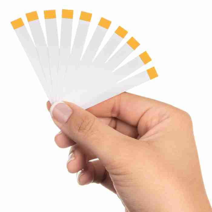 Seroflora Feminine Vaginal pH Test Strips for Vaginal Health Support