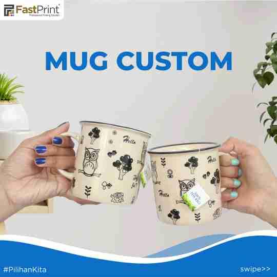 mug custom, suvenir unik, suvenir murah, kertas decal