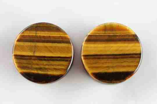 tigers eye plug properties