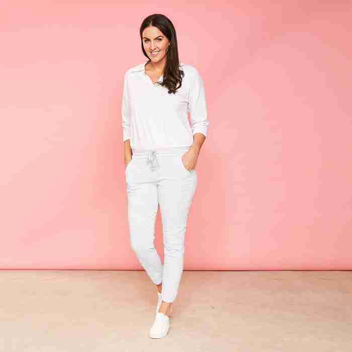 Charlie Joggers (White)