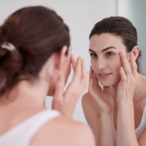 Breakouts and other skin problems can be a sign of a weak immune system