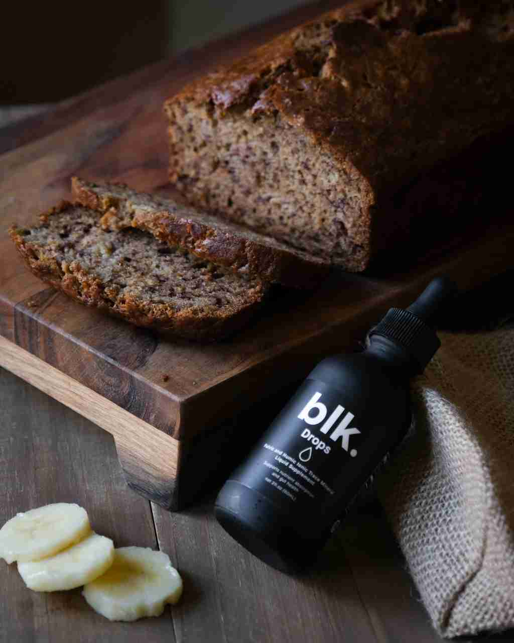 Festive Gingerbread Cookie Recipe made with blk. Drops