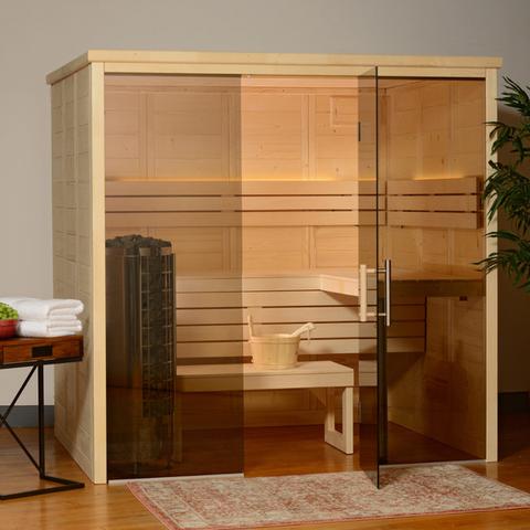 Options for Indoor Sauna Placement