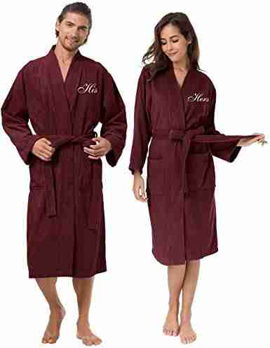 His and Her's Terry Cloth Robes