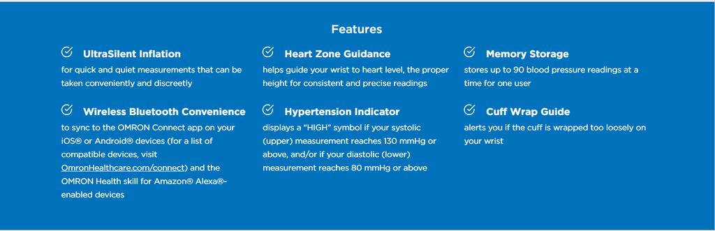 Omron BP6350 Blood Pressure Machine