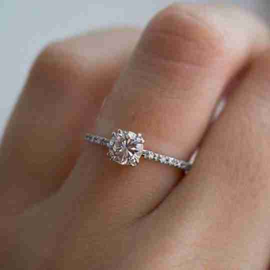 The Blush and Bar Tianna Sparkle Ring