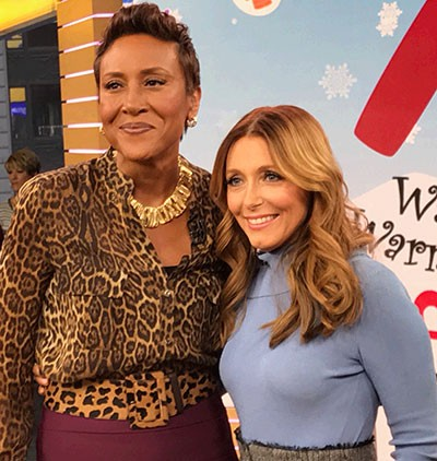 Dr. Kellyann and Robin Roberts of GMA