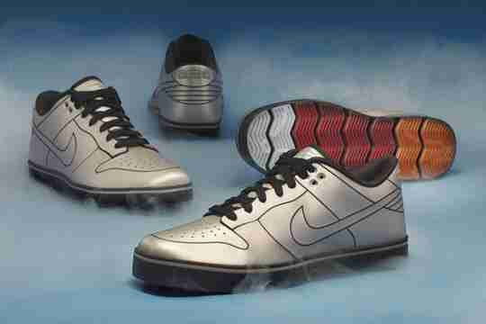 DeLorean x Nike 6.0 Dunk