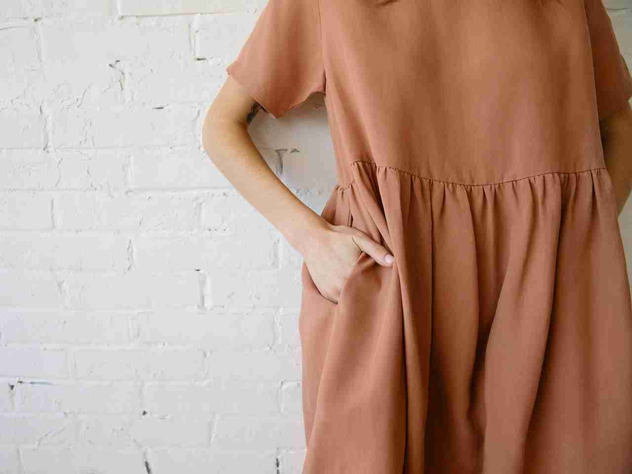 Sustainable Linen Fabric - The Nico Dress