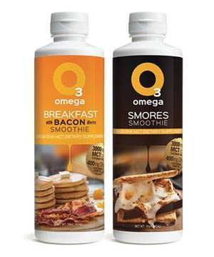 O3 Smoothies - Breakfast with Bacon and Smores