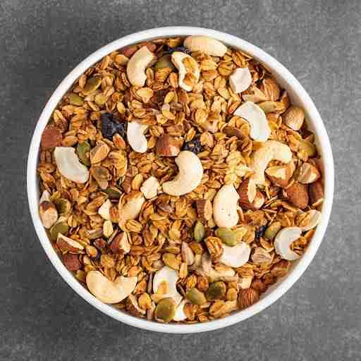 fiber filled foods nuts oats