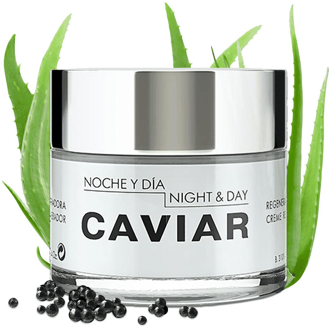Pictured is Noche Y Di'a Caviar Face Cream.