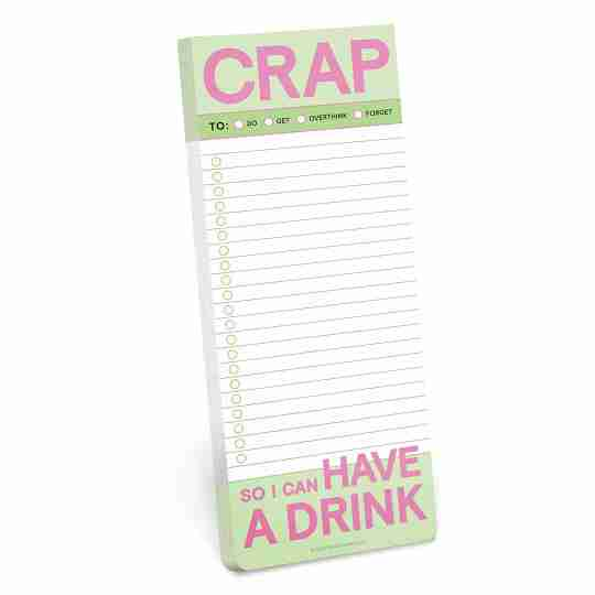 List pad   Twisted Wares®