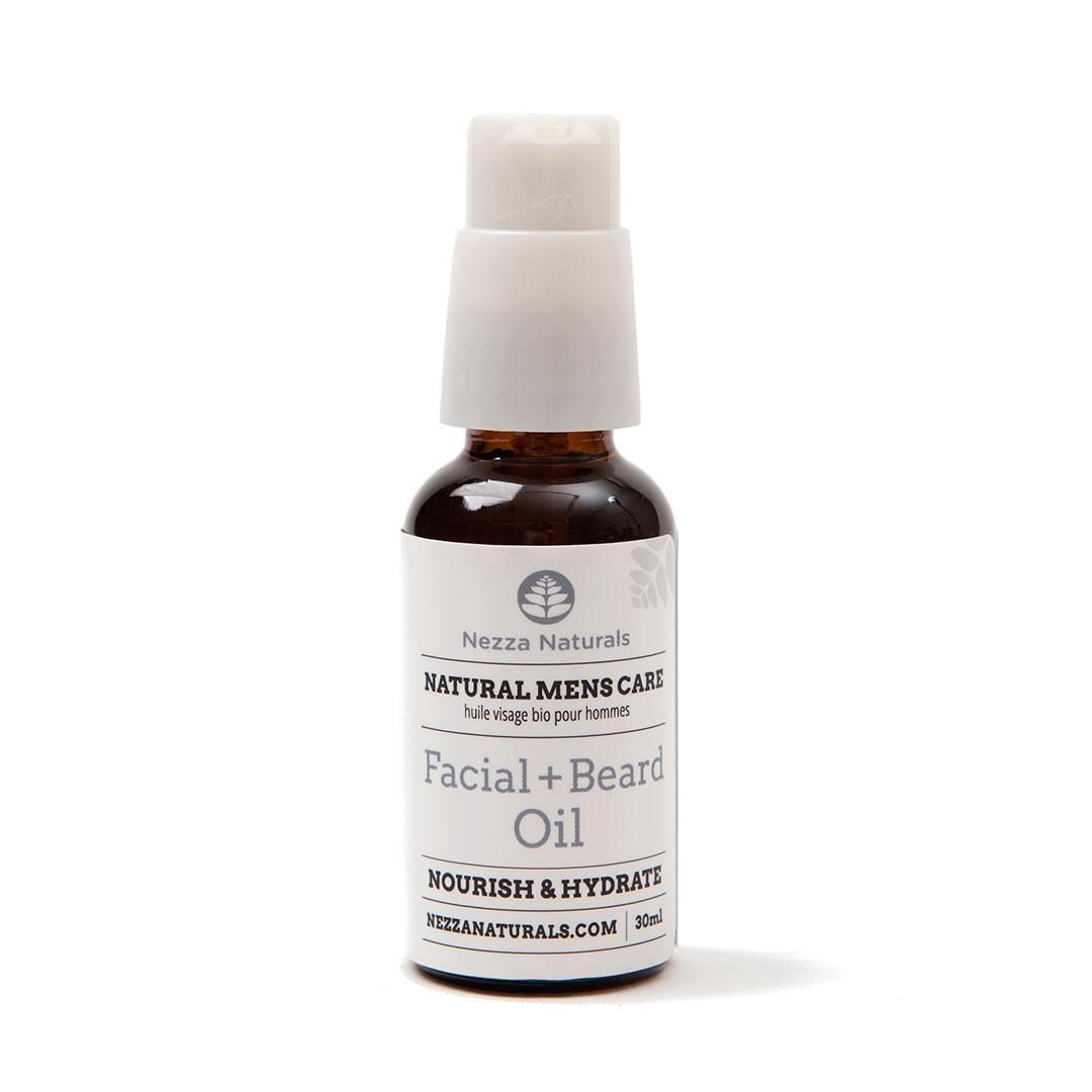 nezza naturals men's facial oil