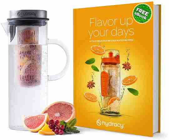 Glass Pitcher 52oz - Ebook