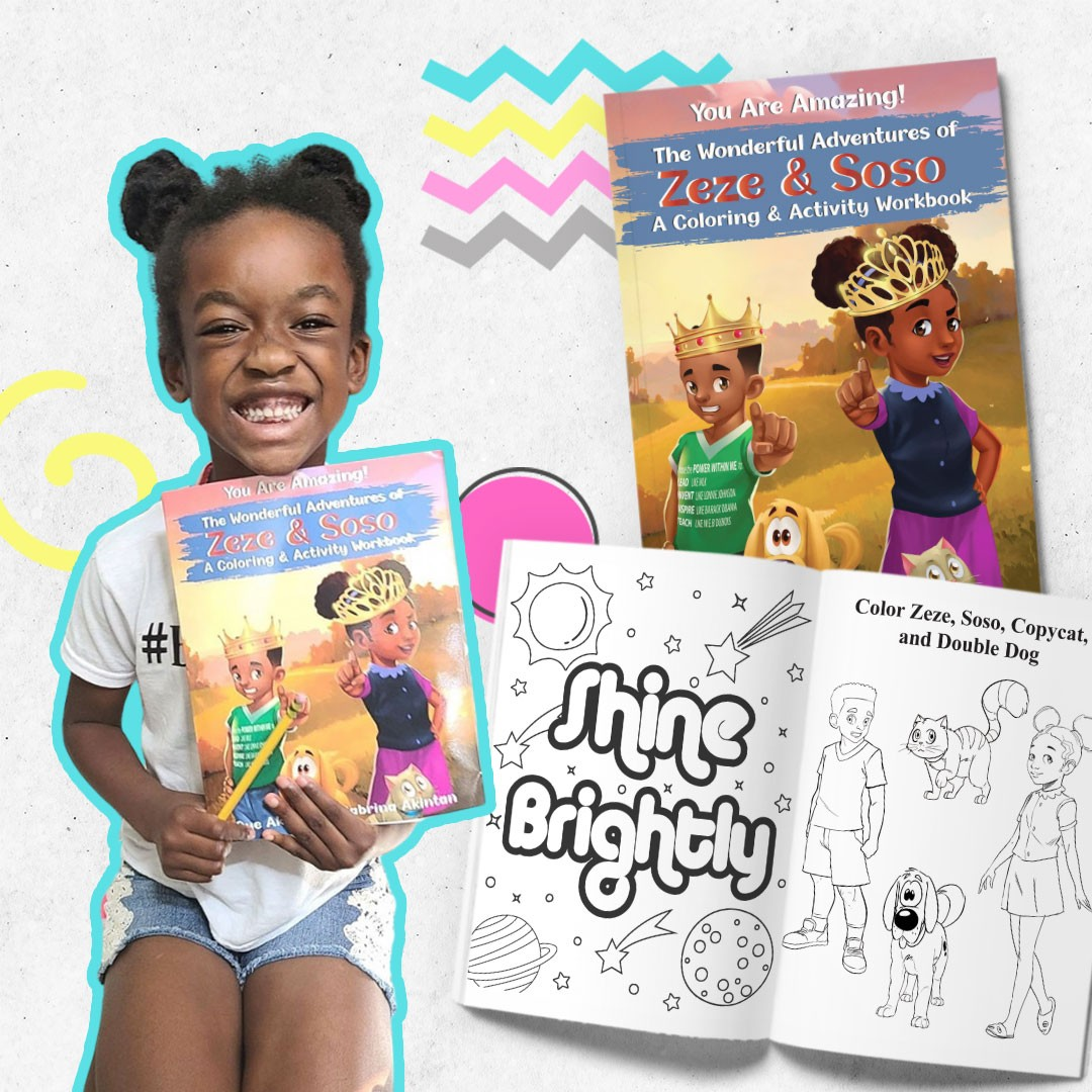 Zeze and Soso Coloring Book
