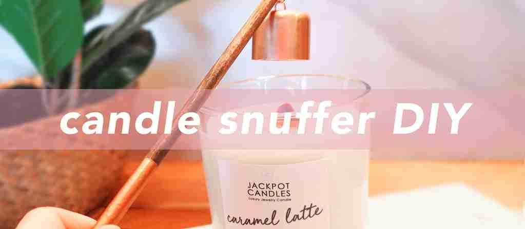 copper candle snuffer DIY