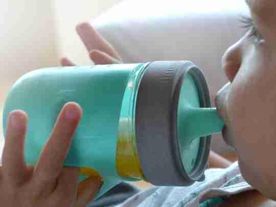 The multi-purpose baby bottle