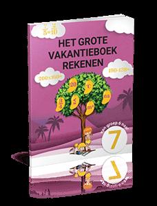 Het Grote Vakantieboek Rekenen - van groep 6 naar groep 7