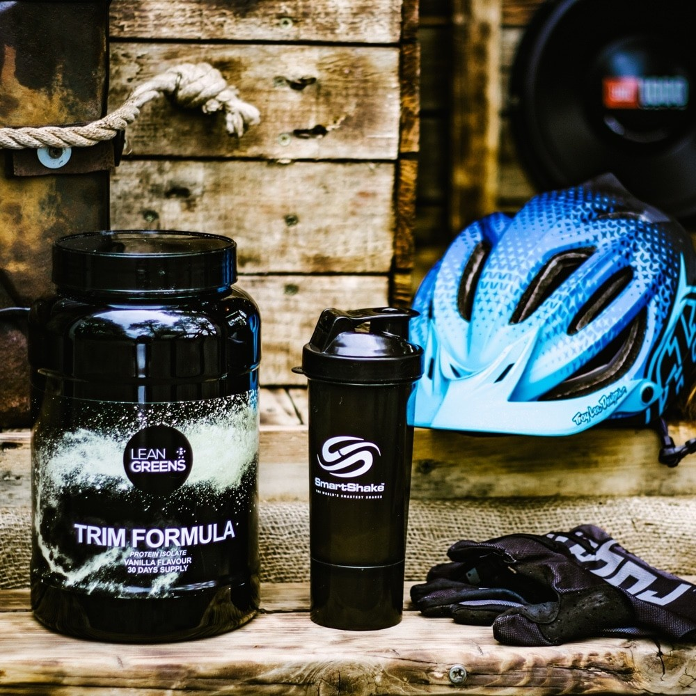 TRIM Formula whey protein isolate for mountain bikers