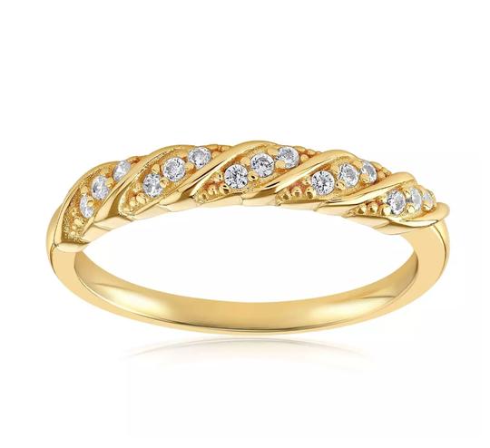 Blush and Bar Jessica simple twist ring