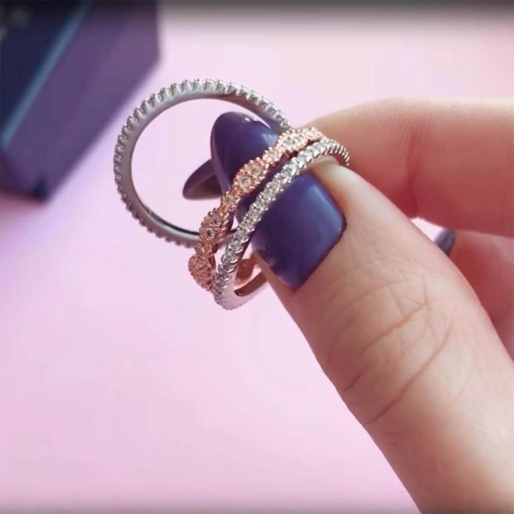 Juliana 3 Ring Set