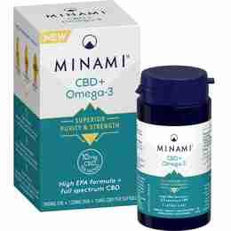 Minami CBD + Omega 3 Fish Oil Supplement