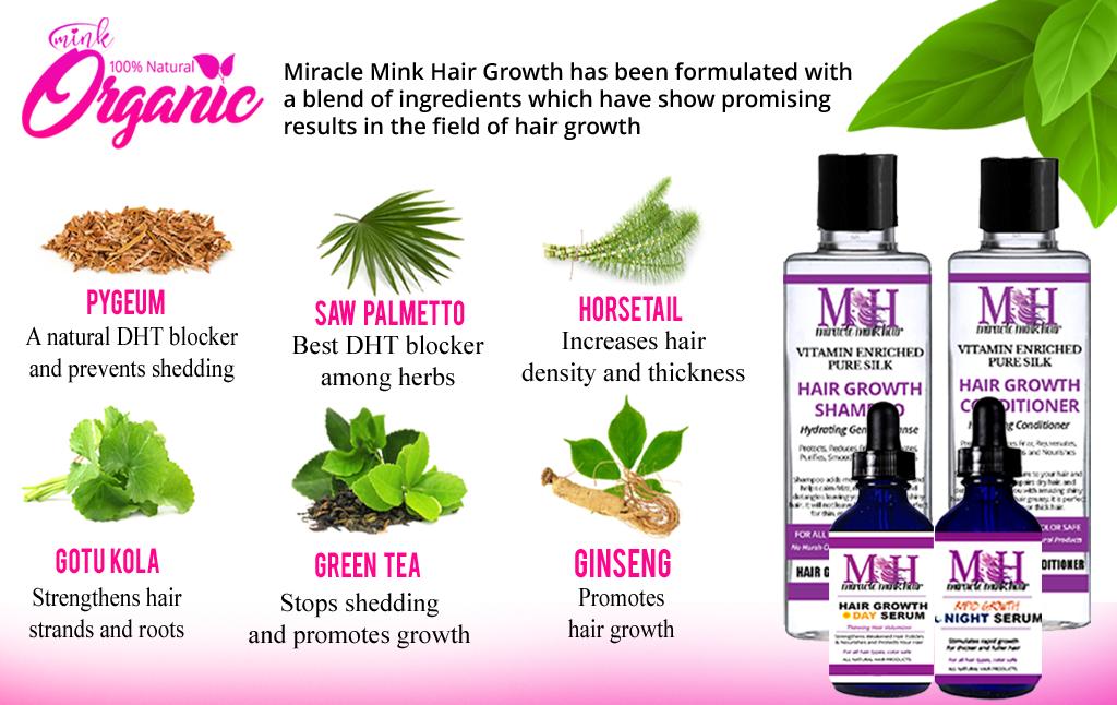 Mink Hair Wholesale Organic Ingredients