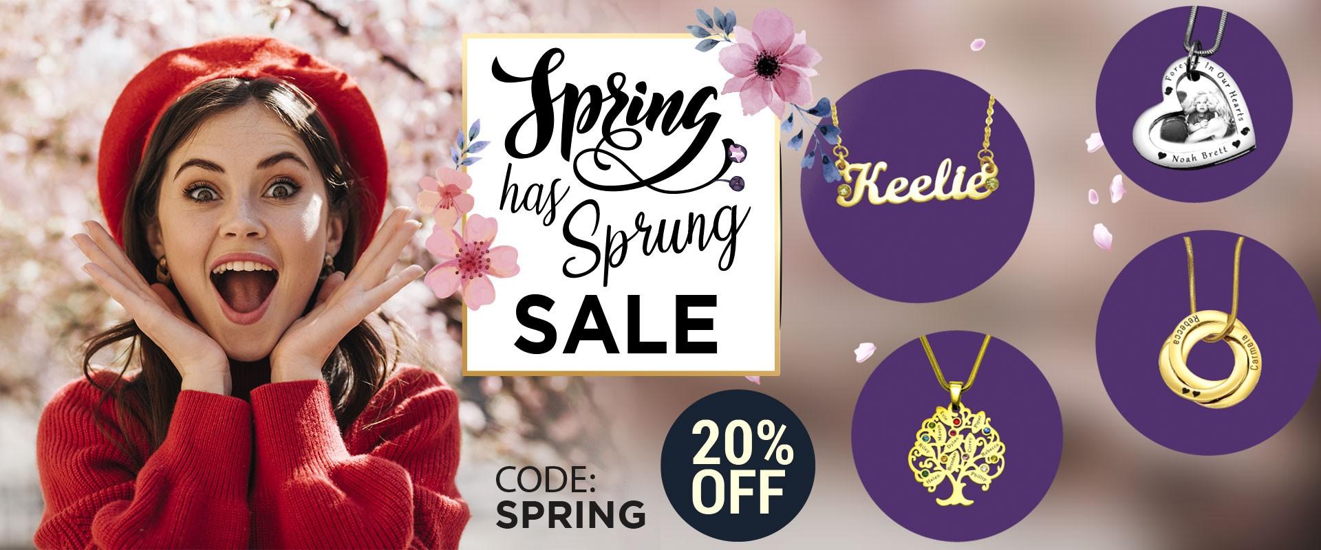 Belle Fever Spring Has Sprung Sale