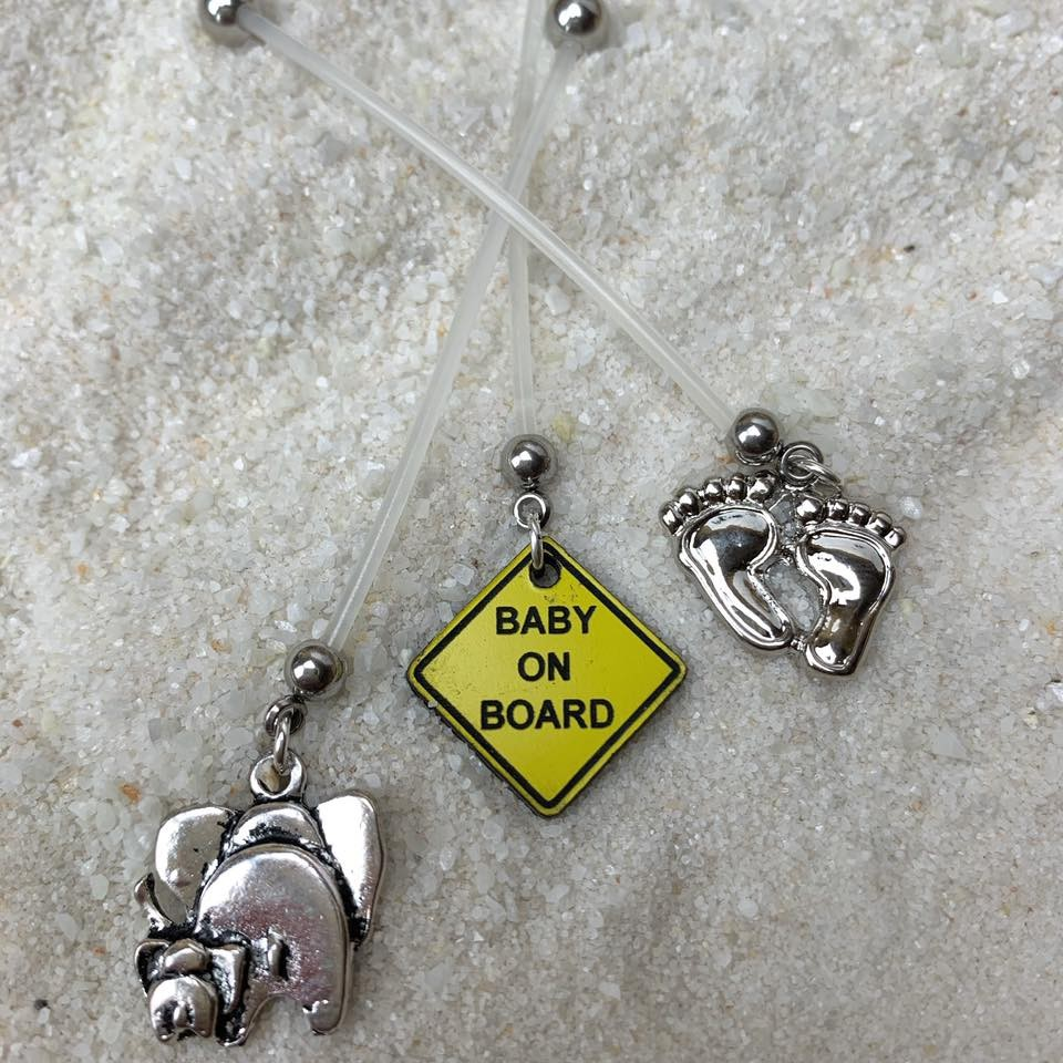 Pregnancy Belly Button Rings