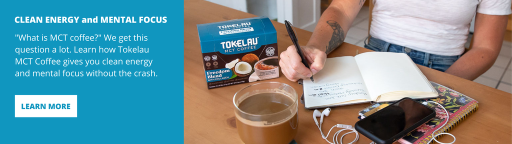 Keto Coffee - Clean energy and mental focus - main