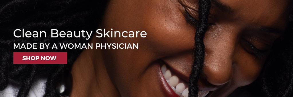 beautiful african american woman - clean beauty for black women - black skincare