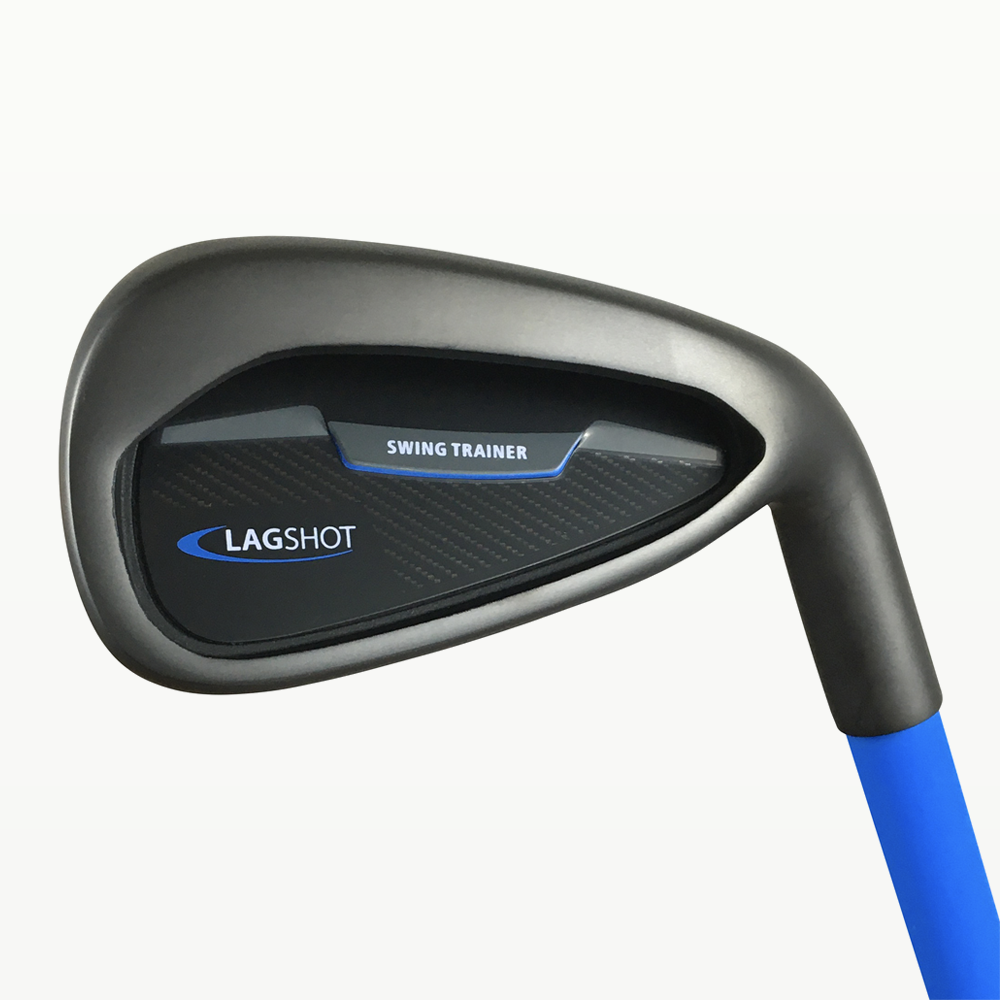 Lag Shot 7 Iron - Get The #1 Golf Swing Training Aid of 2021! Unlock Your Best Golf Swing and Add 20+ Yards Effortlessly! Comes with Free Video Training Series from PGA Teacher of The Year!