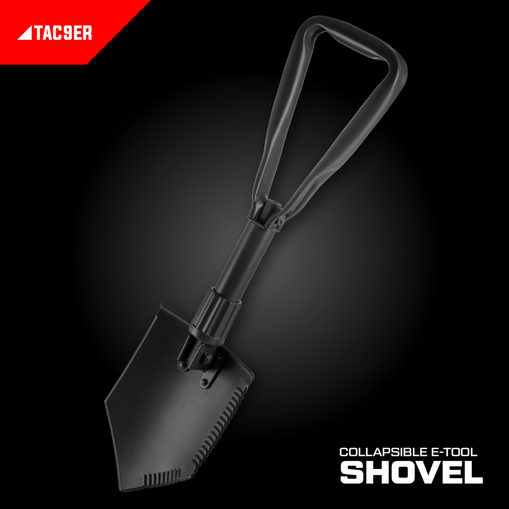 Foldable E-Tool Shovel