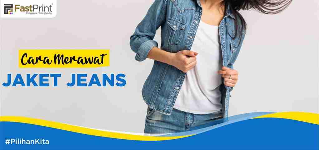cara merawat jaket jeans