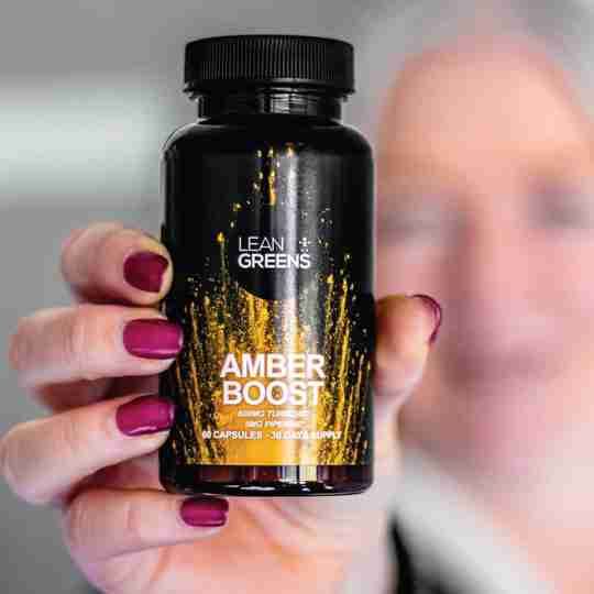 Amber Boost Turmeric Vitamin D3