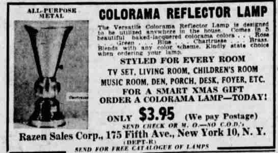 From the Des Moines Register December 6th, 1953