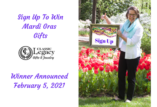 Sign Up for Mardi Gras Gifts