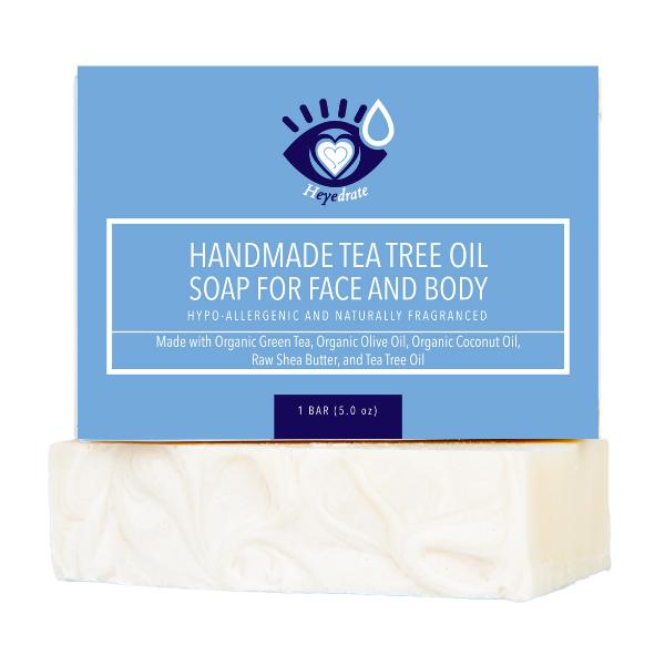 Heyedrate Tea Tree Oil Soap Bar