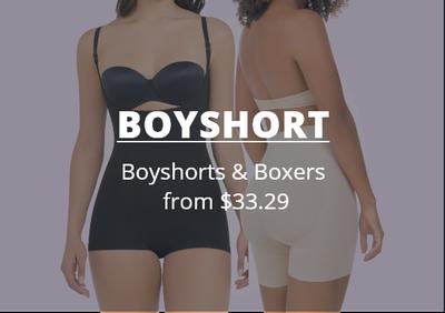 All boyshorts on sale, best shapewear for women deals online