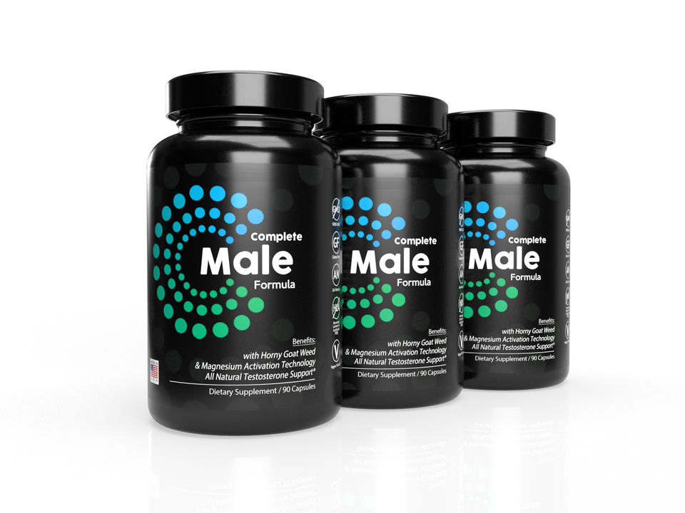 3-Pack: Complete Male Formula