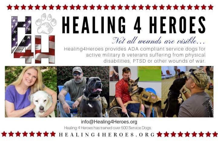 February 2019 Charity Spotlight: Healing4Heroes
