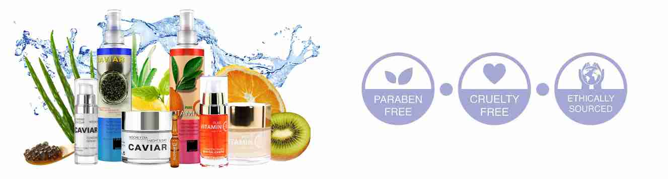 Noche Y Dia Skincare is 100% cruelty-free and paraben-free!