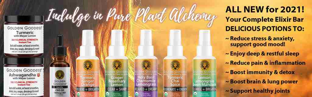 All NEW for 2021 - Golden Goddess Plant Alchemy