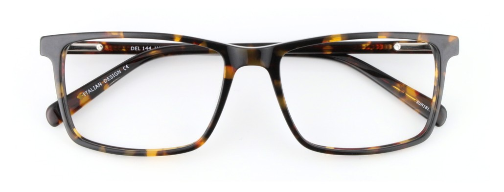 havana rectangle glasses