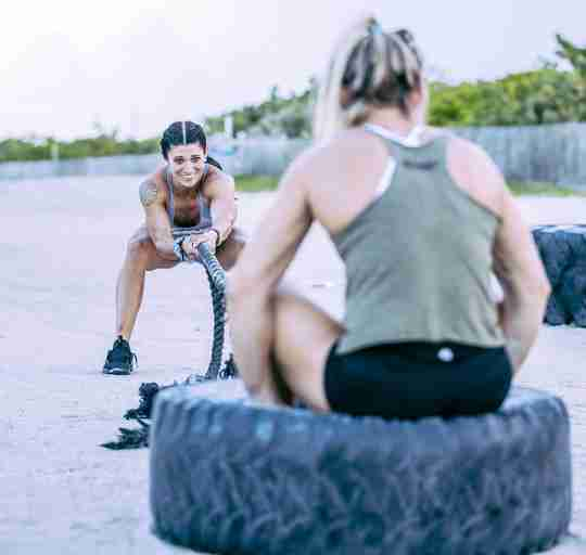 Build muscle naturally with CrossFit exercises.