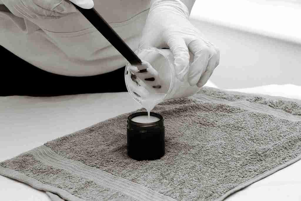rankų darbo kremo gaminimas