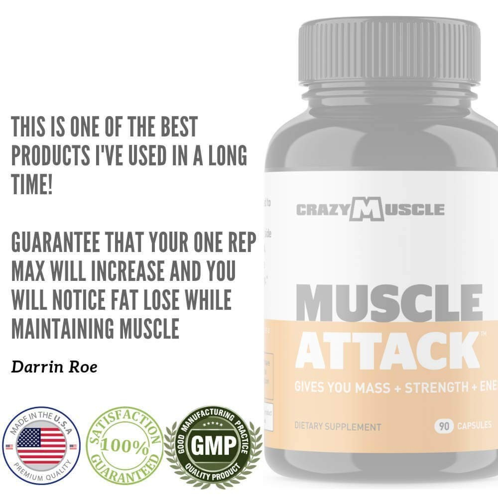 Muscle Attack testimonial