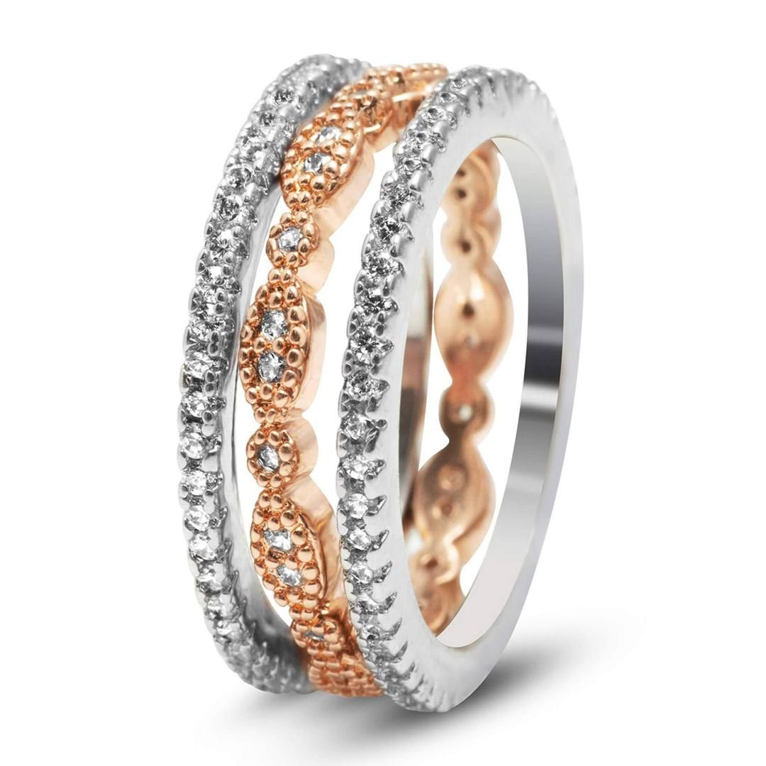 Juliana three-ring set
